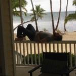 Bo relaxing