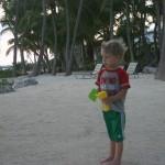 Jace on the sand