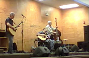 Brian, Patrick, Carl on stage