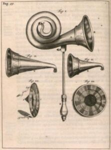 Pictures of Ear trumpets from Wikipedia
